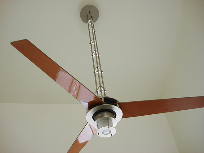 Ceiling Fan Over A Stairway Good Idea